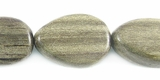 Flat Teardrop Graywood Beads 12x16mm
