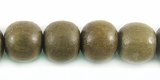 Graywood Round Wood Beads