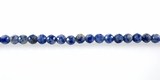 Round Faceted Brazilian Sodalite Beads 6mm