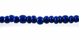 Blue Round Coco Beads 2-3mm