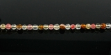 Tiger Glass Round Beads Faceted 4-4.5mm