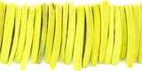 Yellow Coco Tusk  Beads 26-28mm