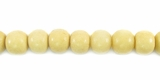 Tea Dyed Bone Round Beads 6mm