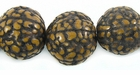"""Thatch Palm"" Seeds Beads (Antiqued)"