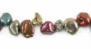 Multi-Color Autumn Keshi Pearls 6-7mm