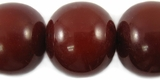 Mahogany Round Amber Resin Beads