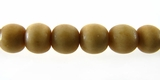 Round Tea Dyed Bone Beads 8mm