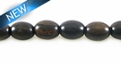 Black Ebony Oval Shape 8x11mm