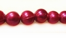 Bright Red Potato Pearl Big Hole 9mm