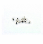 Silver Crimp Beads 1.5 Gram Pack 1.5mm