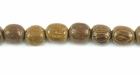 Round Robles Wood  Beads 4-5mm