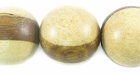 Round Unbleached Whitewood Beads (with Robles Wood Band 20mm)