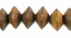 Robles Saucer Wood Beads 12x8mm