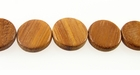 Bayong Flat Round Wood Beads