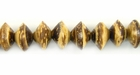 Tiger Coco Saucer Beads 10mm