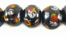 Lampwork Glass Beads 13x11mm