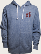 Ben Harper 2012 Acoustic Tour Hooded Sweatshirt