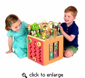 Parents Magazine Busy Zoo Activity Cube Toy