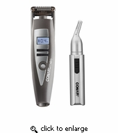 Conair GMT900 i-Stubble Beard Trimmer w/ Bonus 9 Pc Trimmer & Pouch