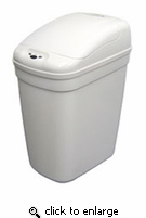 Infrared 7 Gallon Plastic Hands Free Trash Cans