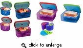 Fit & Fresh 19 Pcs Kid's Healthy Lunch Set BPA Free