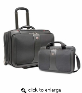SwissGear Wheeled Computer Case 2 Piece Business Set