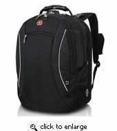 "SwissGear 17"" Scan Smart Backpack for Laptop"