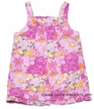 E Land Kids Baby Girls Pink Hawaiian Floral Dress with Bloomers