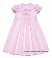 Sundae Afternoon Baby Girls Smocked Easter Bunny Day Gown
