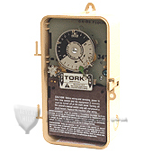 TORK 7300ZL SERIES, ASTRONOMIC TIME SWITCH, WITH SKIP-A-DAY FEATURE, WITH RESERVE POWER
