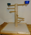 FunMax Wood Play Stand Medium with Cups