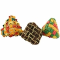 PP Diamond Woven Foot Toy 3 Pack