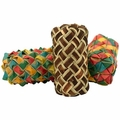 PP Cylinder Woven Foot Toy 3 Pack