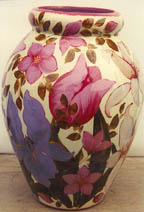 Lesal Ice Bouquet Art Option Pictured on a Vase