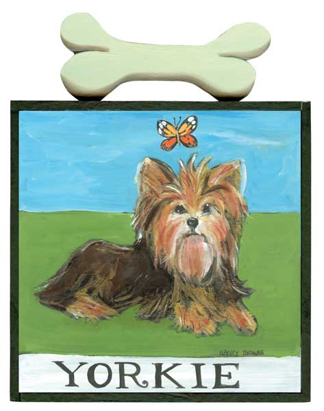Yorkie From the Hot Diggity Dog Series
