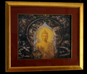 Framed Buddha Prints - Wall Art  by Sompop Budtarad