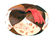 Silk Gong Cushion - Small