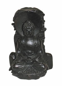 "Meditating Zen Buddha - 2.75"" Resin"