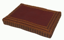 Meditation Bench Cushion - Brown Global Weave