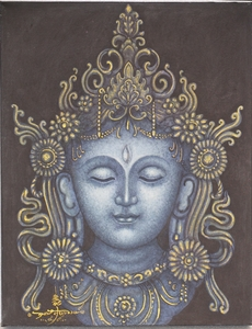 White Tara - Painting On Canvas
