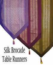 Table Runners - Classic Thai Silk Brocade Fabrics