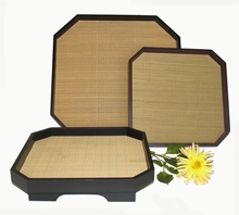 Tatami Wood Trays - Octagon
