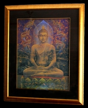 "Framed ""Canopy of Naga II"" Print OUT OF STOCK"