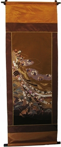 Wall Hanging - Antique Silk Japanese Kimono Artist's Proof