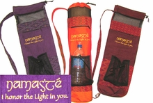 Yoga Mat Bag - Namaste