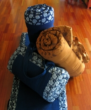 Yoga Mat - Roll-up W/Carry Handles