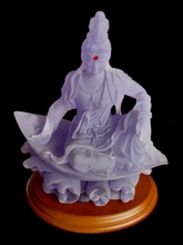 Quan Yin On Floating Lotus Petal
