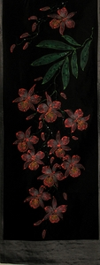 "Table Runner or Wall Hanging - ""Exotic Orchid"" 5"