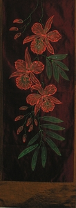 "Table Runner or Wall Hanging - ""Exotic Orchid"" 9"