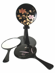 Hand Held Mirror - Lacquered